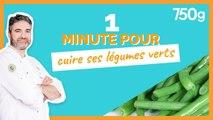 1 min pour... Bien cuire des légumes verts - 750g