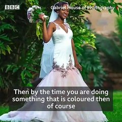 WEDDING DRESSES AND COLOURS