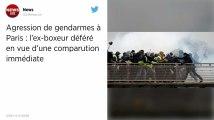 L'ex-boxeur suspecté d'avoir agressé des gendarmes sera jugé en comparution immédiate ce mercredi