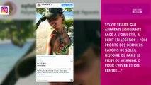 Sylvie Tellier sans maquillage : sa réponse cash à un commentaire critique