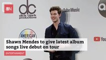 Shawn Mendes To Go On Tour With New Songs