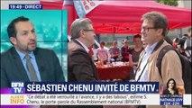"""Sébastien Chenu (RN) : """"Nous nous accueillons tous les patriotes, qu'ils viennent de gauche ou de droite"""""""
