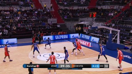 7Days EuroCup Highlights Top 16, Round 2: Zenit 98-84 Cedevita