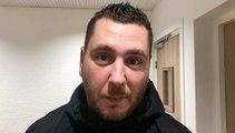 Coupe du Rhône - Sébastien DODILLE  (FC Lyon) réagit après le tirage au sort des 16èmes de finale