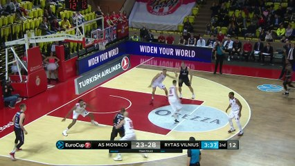 7Days EuroCup Highlights Top 16, Round 2: Monaco 75-70 Rytas