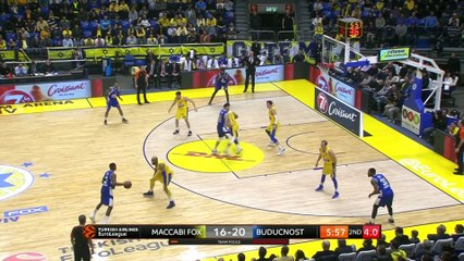 EuroLeague 2018-19 Highlights Regular Season Round 17 video: Maccabi 81-76 Buducnost