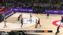 AX Armani Exchange Olimpia Milan - FC Barcelona Lassa Highlights | Turkish Airlines EuroLeague RS Round 17