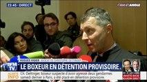 Le boxeur suspecté d'avoir agressé deux gendarmes placé en détention provisoire