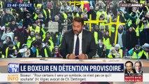 Gilets jaunes : Christophe Dettinger en détention provisoire