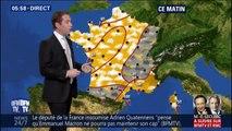 Météo: des éclaircies sur la plupart du pays mais de la grisaille sur l'est et les Pyrénées