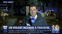 Incendie à Toulouse: 2 personnes en urgence absolue et 15 en urgence relative