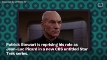 Patrick Stewart Had To Be Convinced To Play Picard Again In A New 'Star Trek' Series