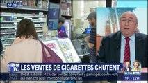 Les ventes de cigarette chutent de 9% en 2018, un record depuis 2004