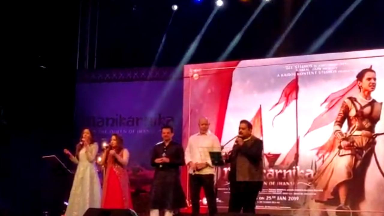 First song of Kangana Ranaut's Manikarnika release at music launch