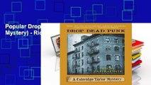 Popular Drop Dead Punk (Coleridge Taylor Mystery) - Rich Zahradnik
