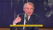 """#GrandDebat """"Je ne sais pas très bien ce que signifie de dire 'telle question ne sera pas traitée (...) Il n'y a rien à craindre dans l'expression des citoyens"""" déclare François Bayrou"""