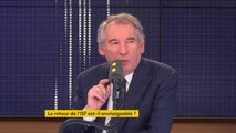 """Carlos Ghosn résident fiscal aux Pays-Bas depuis 2012 : """"C'est scandaleux"""", réagit François Bayrou. """"C'est une rupture du pacte fiscal et du pacte civique."""""""