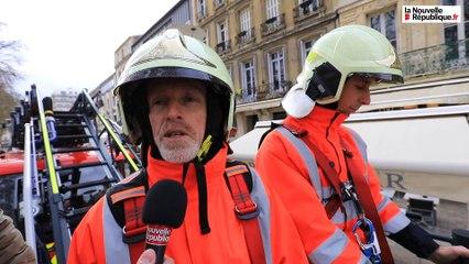 VIDEO. Impressionnante, la nouvelle grande échelle des pompiers de Niort.
