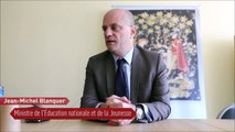 Réaction du Ministre de l'Éducation nationale et de la Jeunesse,  Jean-Michel Blanquer