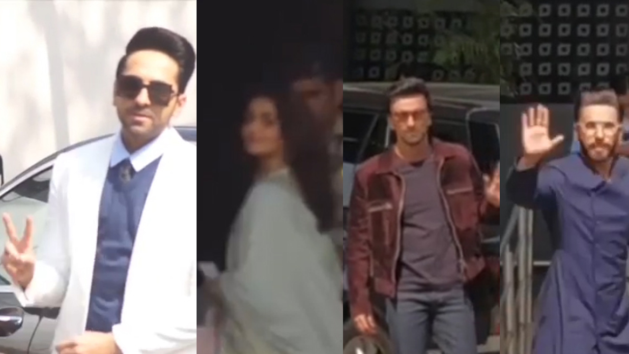 Ranveer, Alia, Karan Johar meet PM Modi in Delhi