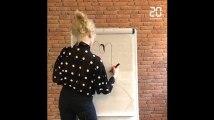 Festival d'Angoulême: Emilie Gleason dessine le personnage de sa BD «Ted drôle de coco» dans notre studio