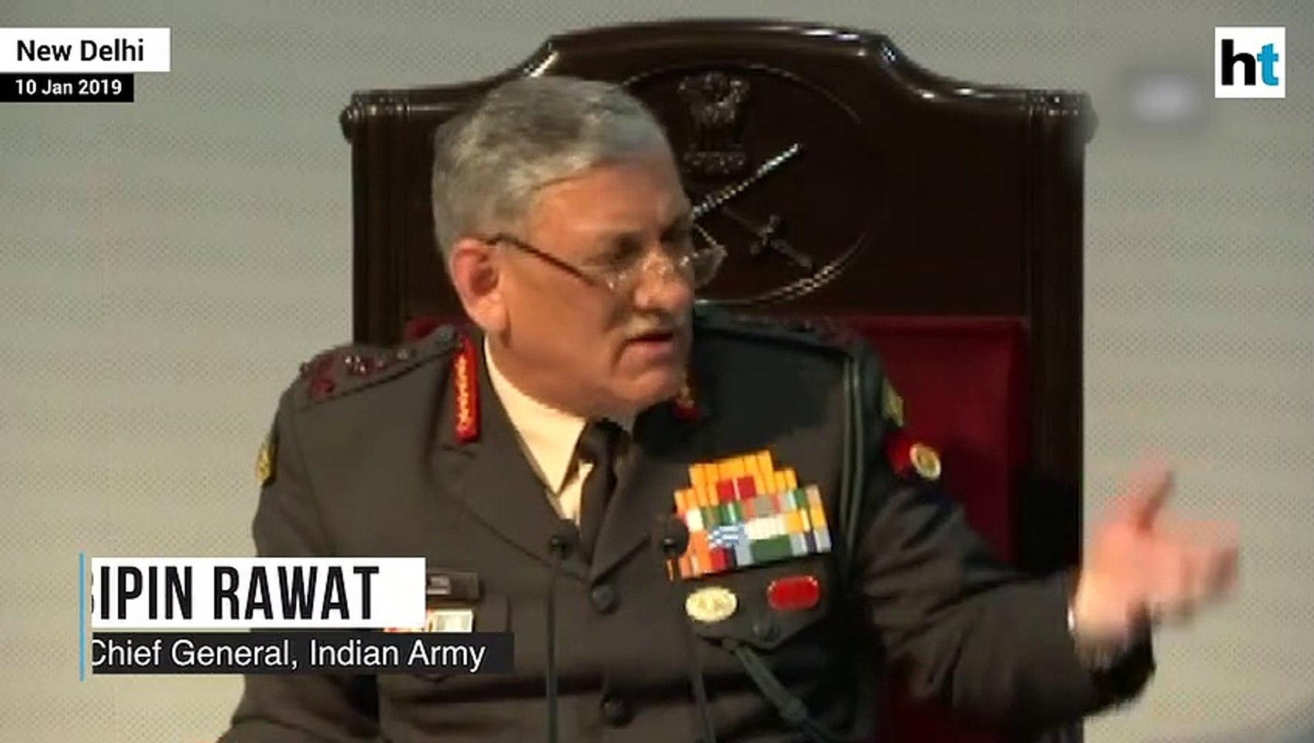 'No gay sex in Army', says Army chief Bipin Rawat