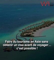 Cinq destinations en Asie accessibles aux Algériens sans visa