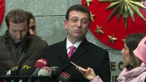 Ekrem İmamoğlu - TBMM Başkanı Yıldırım'ın 'herkes istifa etsin' açıklaması - ANKARA