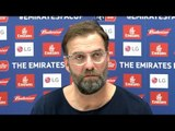 Jurgen Klopp 2nd Embargoed Pre-Match Press Conference - Wolves v Liverpool - FA Cup