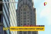 """EEUU: emblemático edificio """"Chrysler"""" de Nueva York es puesto a la venta"""