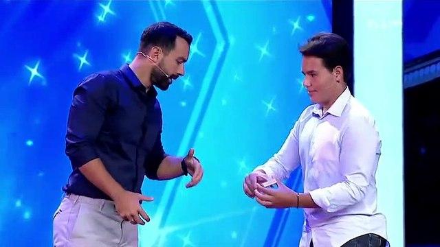 Magician Impresses Judges With Close-Up Magic on Greece's Got Talent 2018   Magicians Got Talent