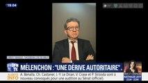 """Jean-Luc Mélenchon dénonce """"une dérive autoritaire"""" de la part du pouvoir"""