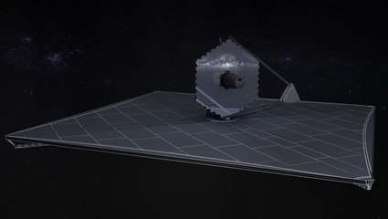 LUVOIR Space Observatory - Visualization Shows It On-Orbit