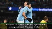 """League Cup - Guardiola : """"On ne s'attendait pas à marquer autant de buts"""""""