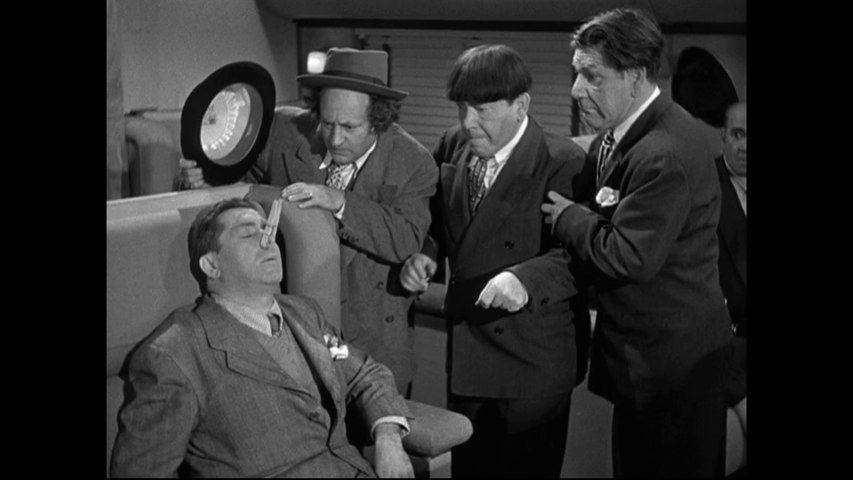 The Three Stooges Hold That Lion E101 Classic Slapstick Comedy