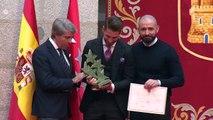 Sergio Ramos recibe el '7 Estrellas del Deporte' de Madrid
