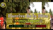 Sekou Keita, Diata Danse - Préparatif du Final de Faso Danse - le Star D'Afrique Diata Danse