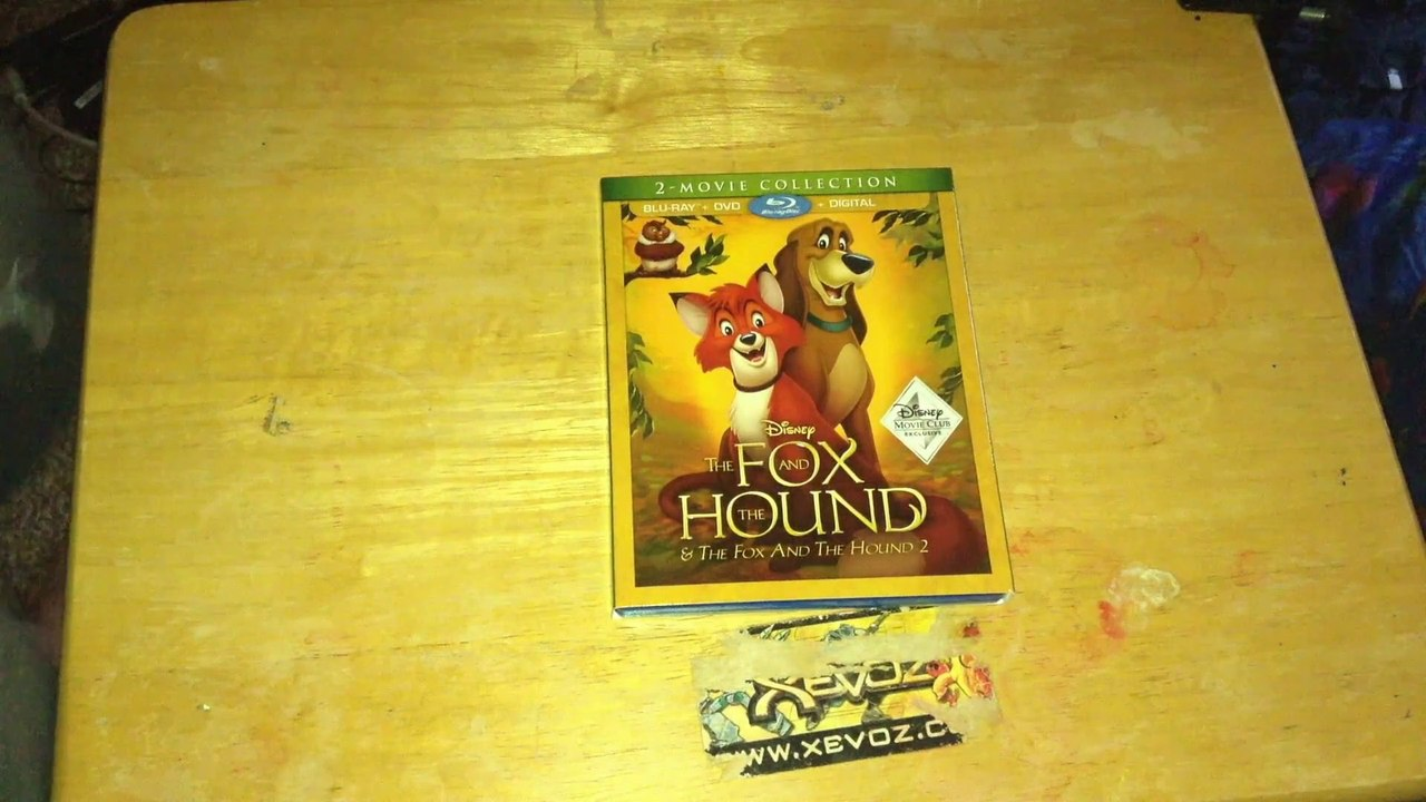 The Fox The Hound 2 Movie Collection Blu Ray Dvd Digital Hd