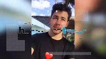 Priyanka Chopra hits the beach in Bikini, Nick Jonas captures