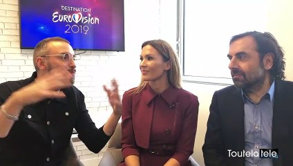 Destination Eurovision 2019 :  Vitaa, Christophe Willem et André Manoukian