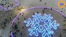 À la découverte du festival chinois de sculptures de glace à Harbin !