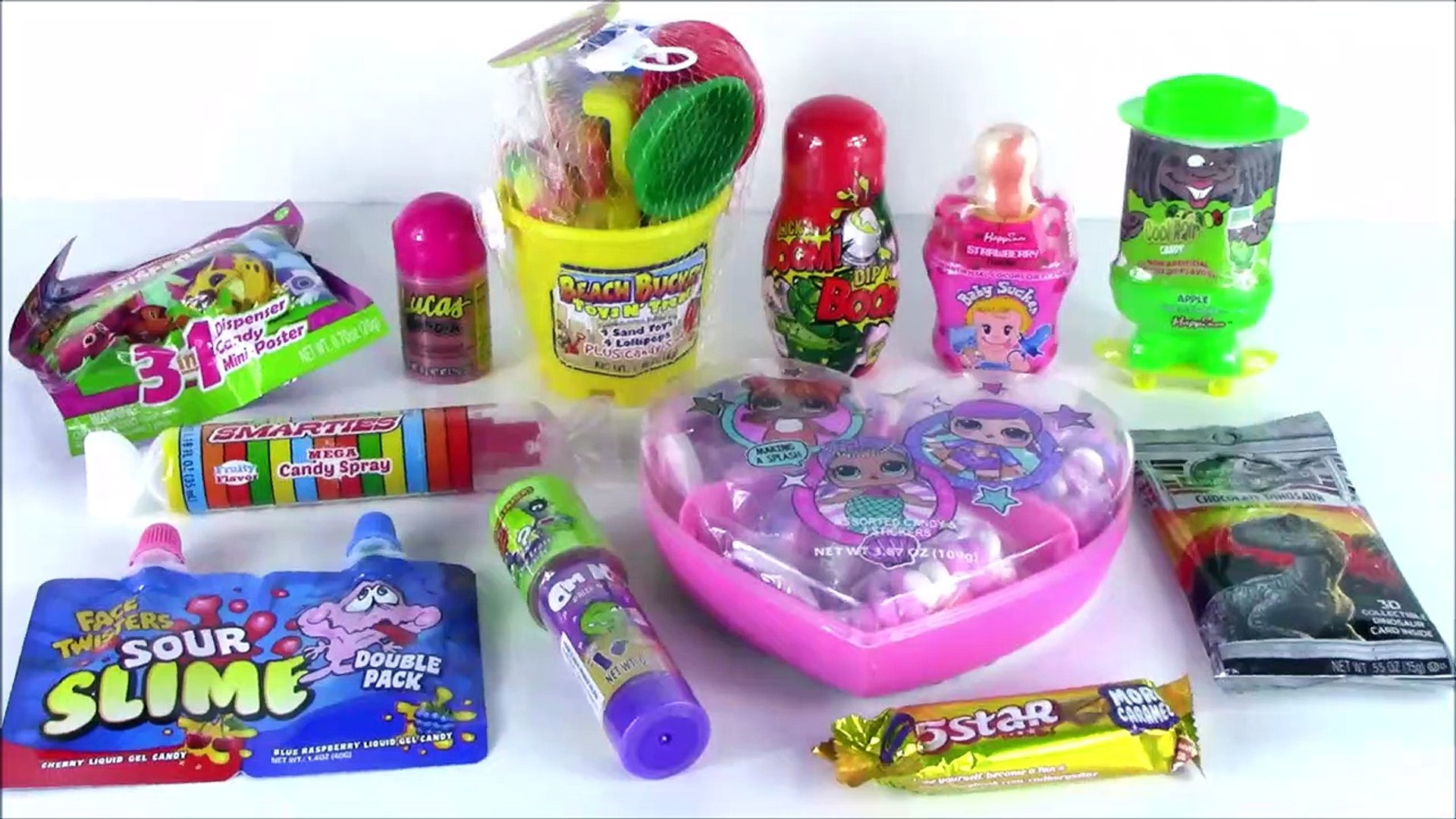 A Lot Of New Candy 3 Twisted Sour Slime Candy Sand Baby Pucker Powder Pop Sm Video Dailymotion