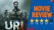 Movie Review URI: The Surgical Strike | Vicky Kaushal | Yami Gautam |