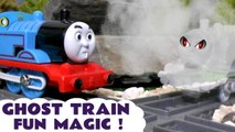 Thomas and Friends Ghost Train Prank Spooky Toy Train Magic Story Video - Percy from Thomas the Tank Engine sees a spooky ghost, and crashes! Who is the ghost toy train? A fun toy story video for kids and preschool children