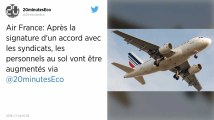 Air France. La direction annonce un accord salarial avec le personnel