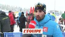 M. Fourcade «Pas la course parfaite» - Biathlon - Coupe du monde