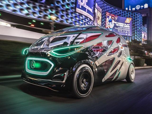 Le concept autonome Mercedes Urbanetic fait le show au CES de Las Vegas
