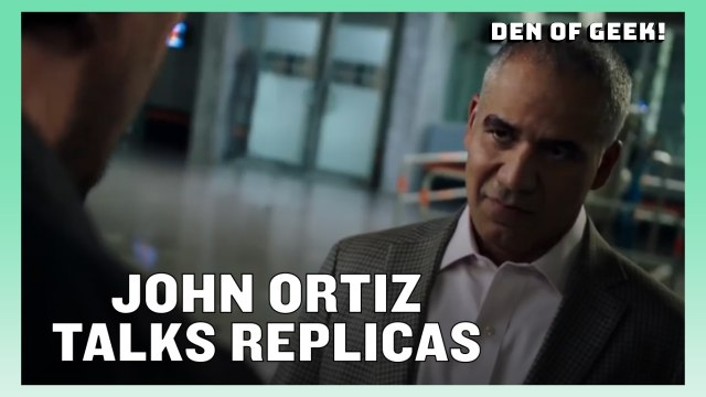 Replicas - John Ortiz Discusses The Movie