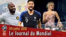 GIROUD pardonne à HENRY, PAMELA en tribunes, un MAILLOT à GAGNER ! Le Journal du Mondial 2018