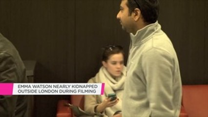 Emma Watson nearly kidnapped on the set of her new Disney movie in London